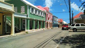 Gaderne i Christiansted